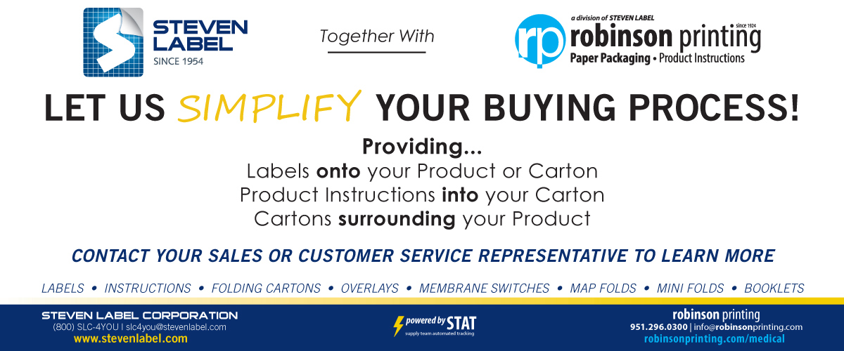 Steven Label together with Robinson Printing
